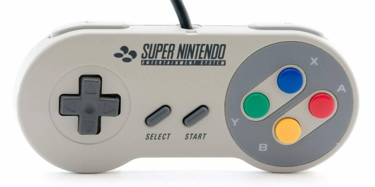 Nintendo registra una marca con la imagen del control de SNES