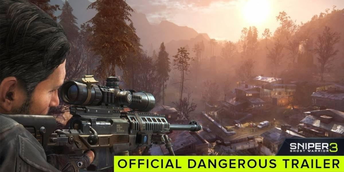Distintas formas de acabar con los enemigos en Sniper: Ghost Warrior 3