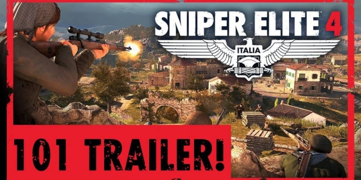 Todo lo que hay que saber de Sniper Elite 4 en un solo tráiler