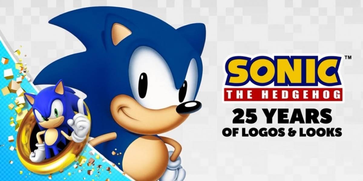 Sega publica video para celebrar el aniversario 25 de Sonic