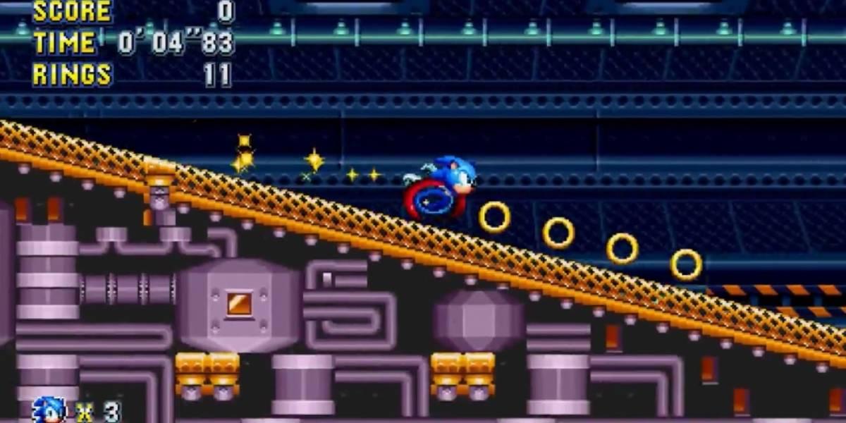 Se retrasa el lanzamiento de Sonic Mania