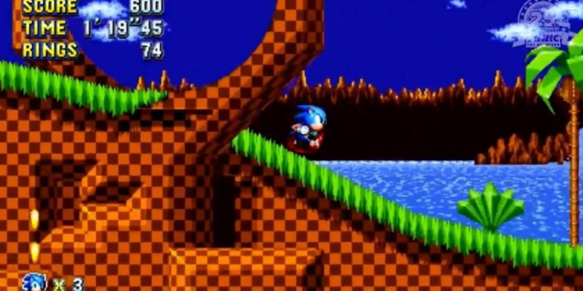 Mira 12 minutos de gameplay de Sonic Mania