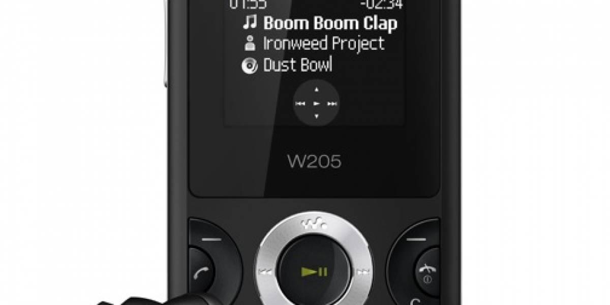 El Sony Ericsson W205 Walkman apuesta por los nuevos usuarios