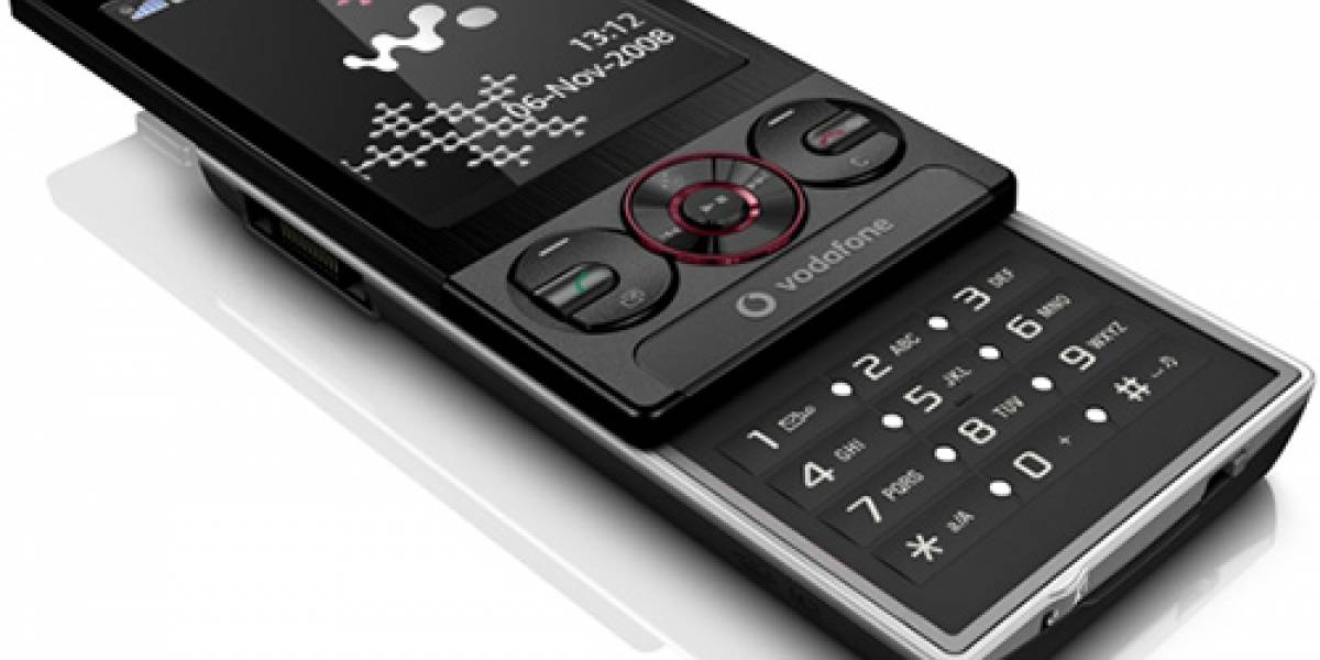 CES09: Sony Ericsson W715 exclusivo para Vodafone