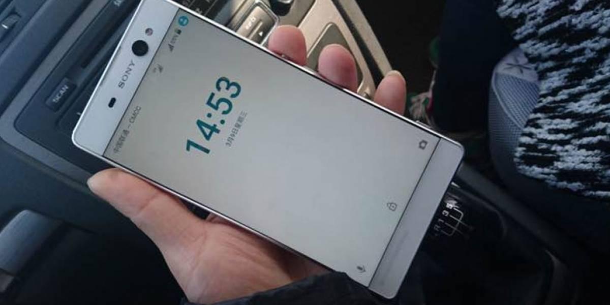 Surgen imágenes de la nueva serie C de Sony con un phablet descomunal