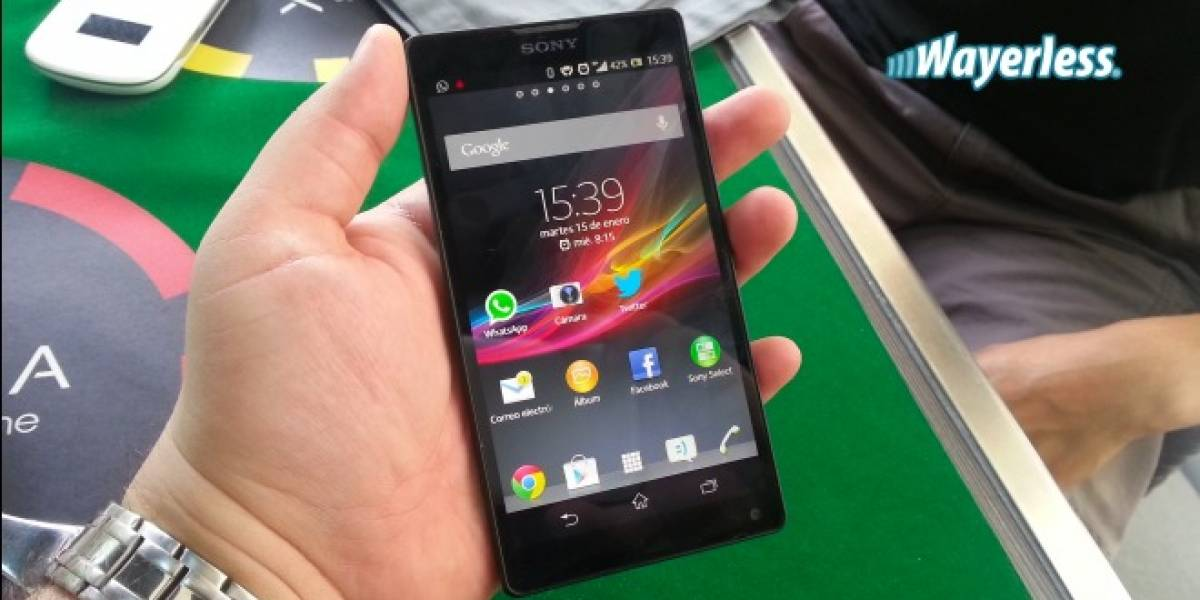 """Chile: Sony presenta el Xperia ZL, el gama alta de la japonesa para """"mercados selectos"""""""
