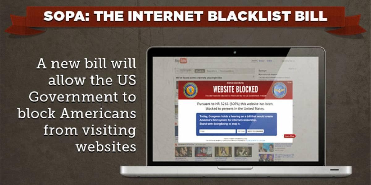 Se aplaza decisión final sobre Ley SOPA para la próxima semana
