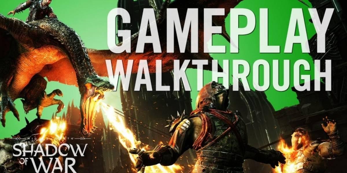 Así se juega Middle-Earth: Shadow of War