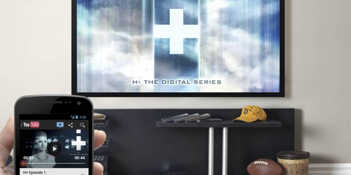 YouTube en smartphones ahora permite transmitir video hacia TV y actuar como control remoto