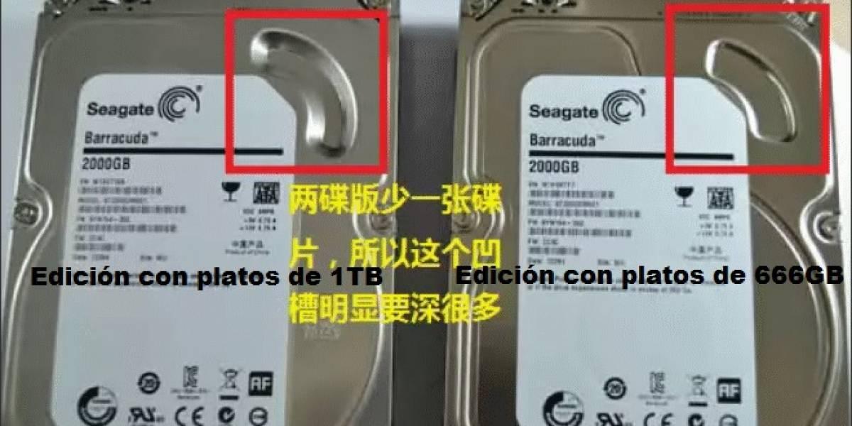 El confuso disco duro Seagate Barracuda 2TB 7200.14 ST2000DM001