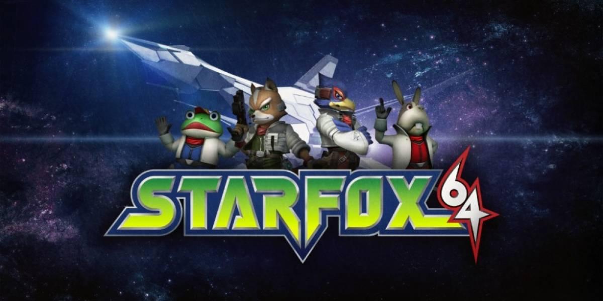 Star Fox 64 llegará a Wii U esta semana