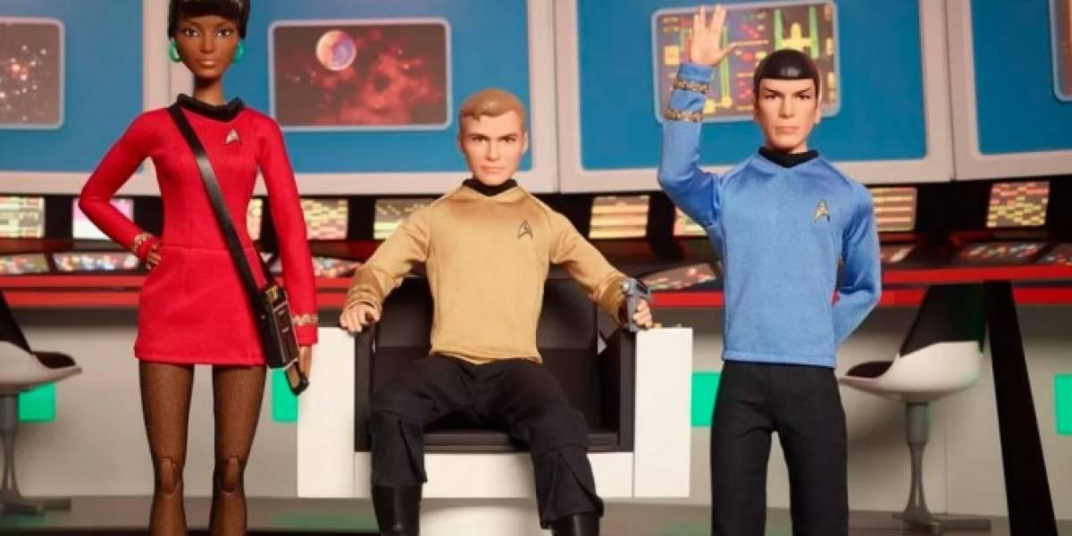 Star Trek cumple 50 años y Mattel lo celebra con una línea de muñecos