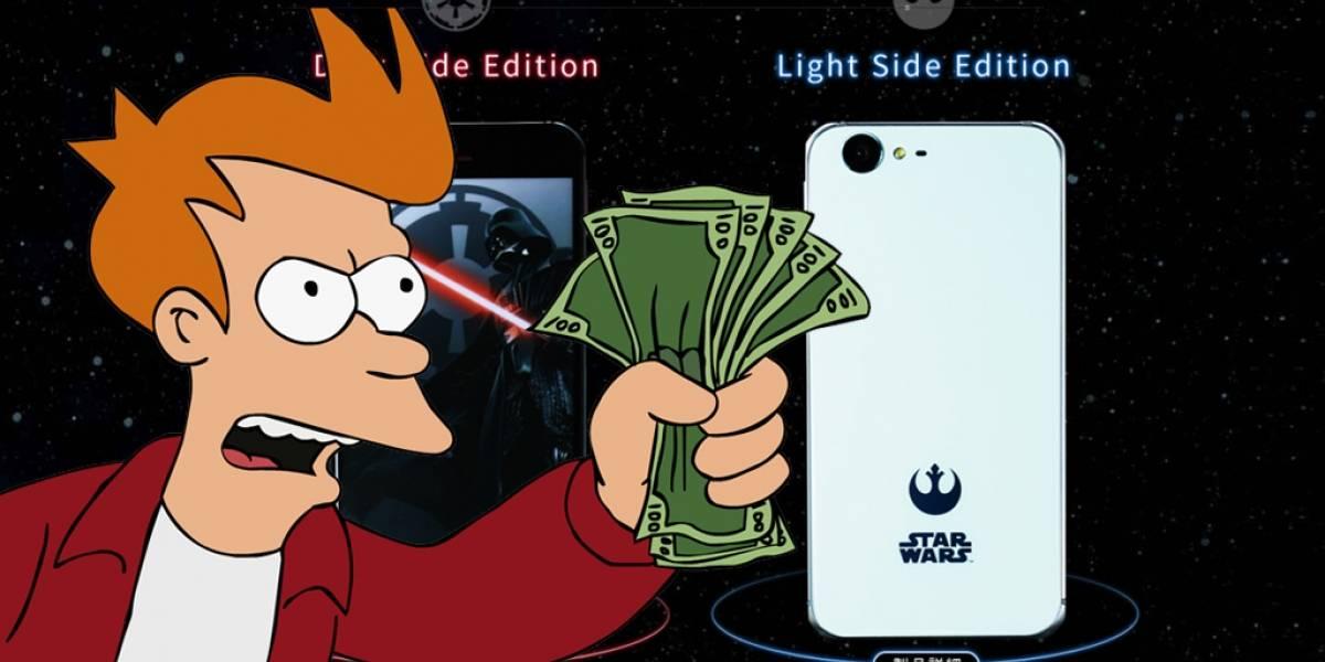 Sharp lanza un smartphone oficial de Star Wars en Japón