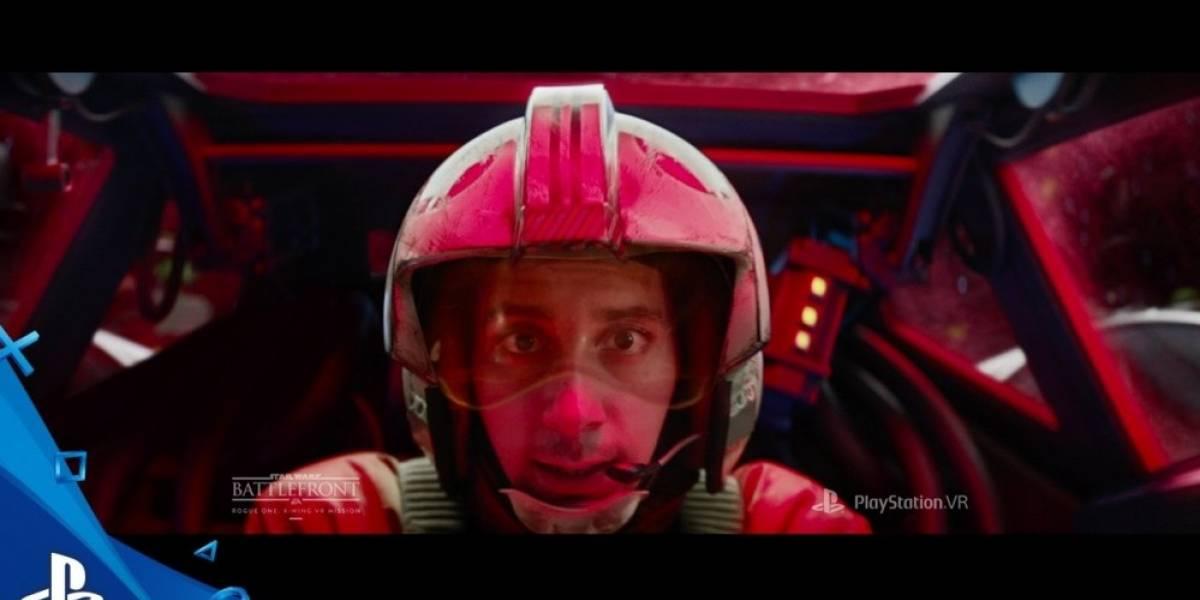 Vean el inspirador comercial de Star Wars Battlefront X-Wing VR