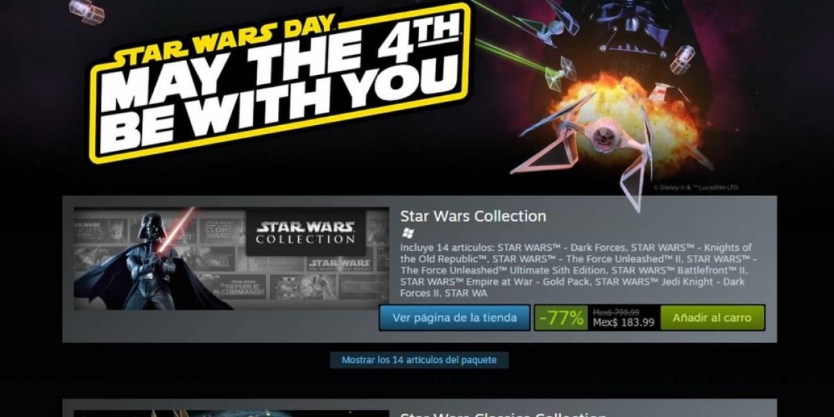 Steam celebra el Día de Star Wars con venta especial