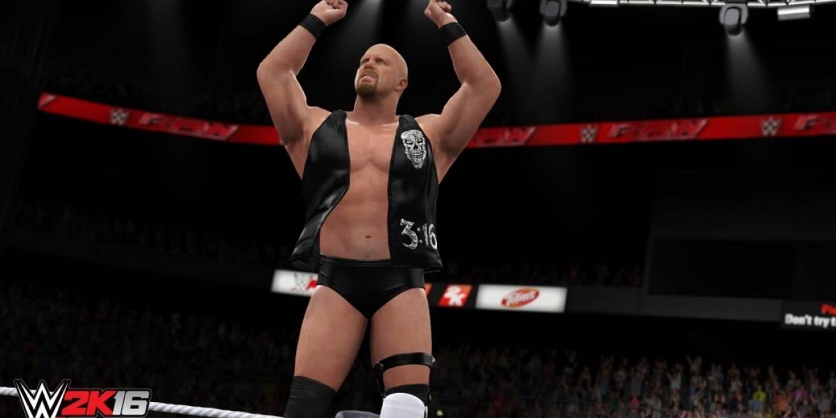 WWE 2K16 llegará al PC en marzo
