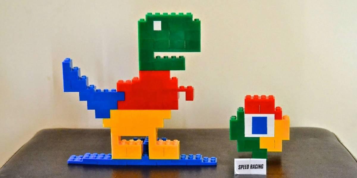"El mini juego de Chrome ""Steve, el dinosaurio saltarín"" llega como widget a tu celular"