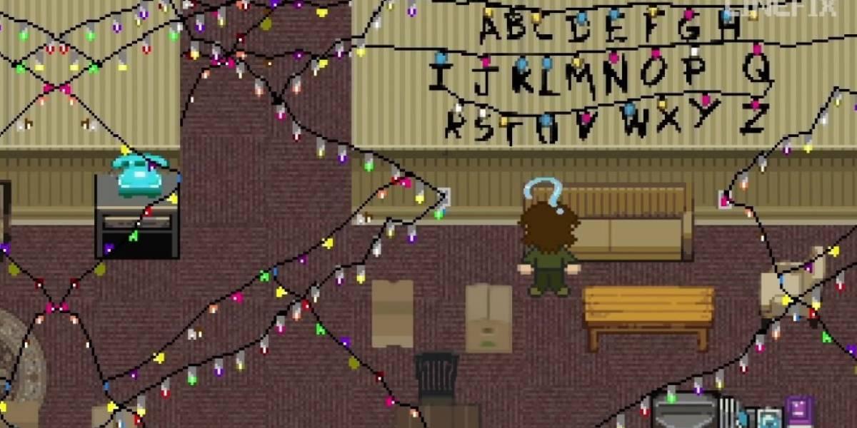 Así se vería Stranger Things si fuera un juego de 8-bits [Video]