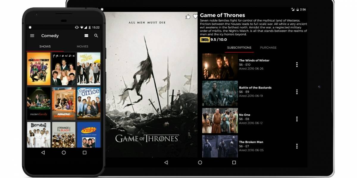 StreamlineWatch junta Netflix, HBO, Hulu y más en una aplicación