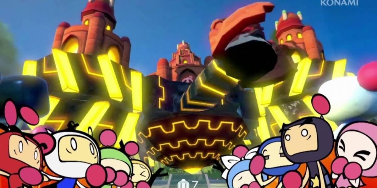 Super Bomberman R recibe tráiler de lanzamiento