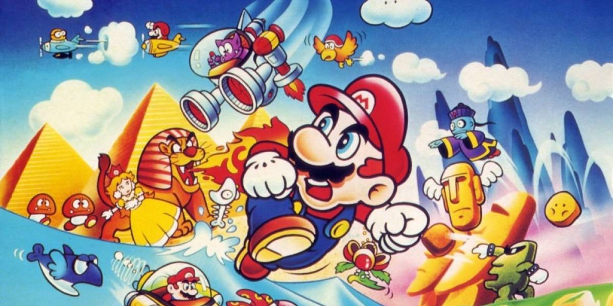 Recrean Super Mario Land en Super Mario Maker