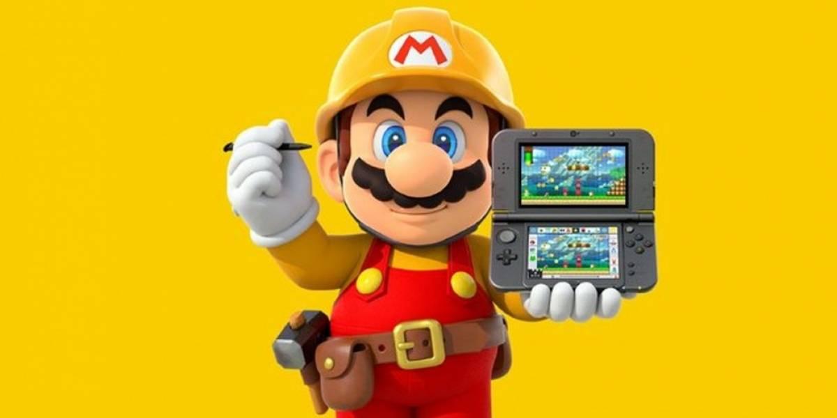 Super Mario Maker para 3DS muestra sus características en nuevo tráiler