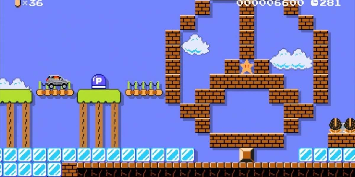 Super Mario Maker recibe contenido creado por Mercedes-Benz