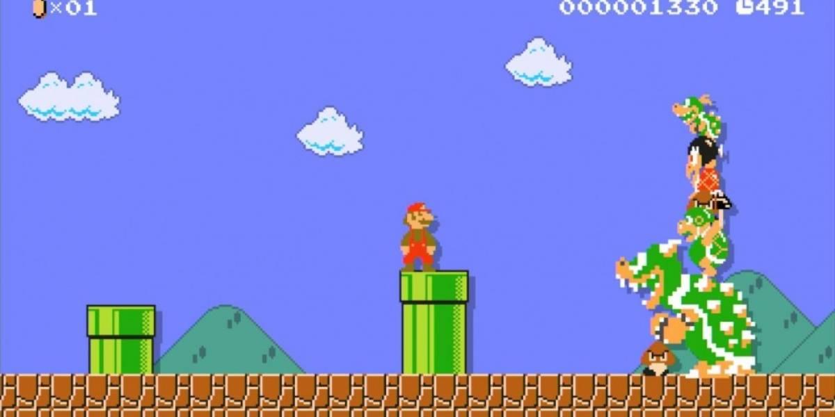 Gamer le propone matrimonio a su novia en Super Mario Maker