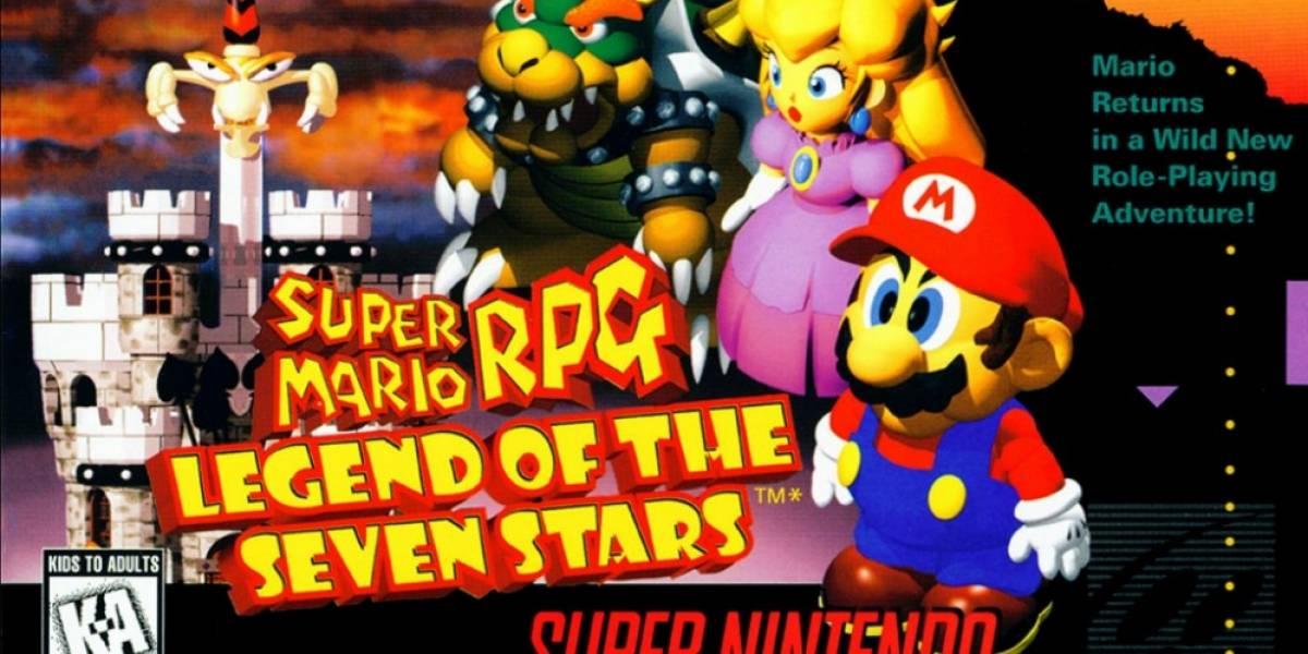 Super Mario RPG llega a la consola virtual de Wii U
