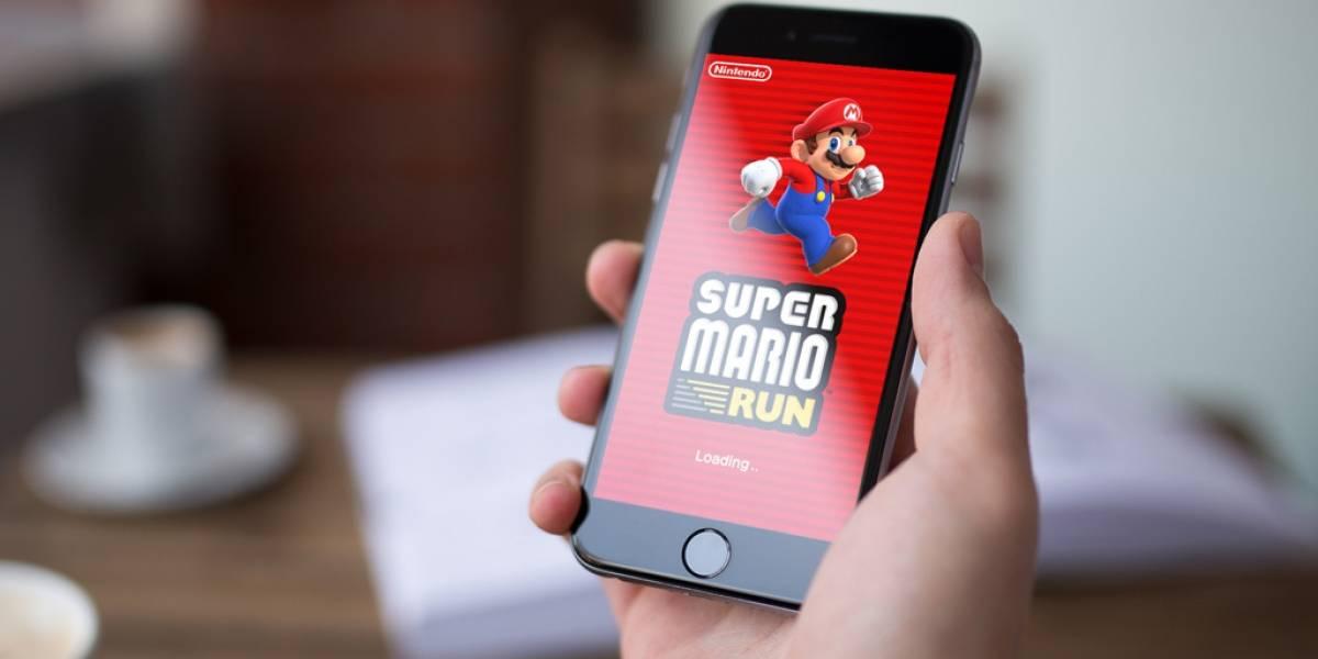 Super Mario Run consiguió 40 millones de descargas en apenas 4 días