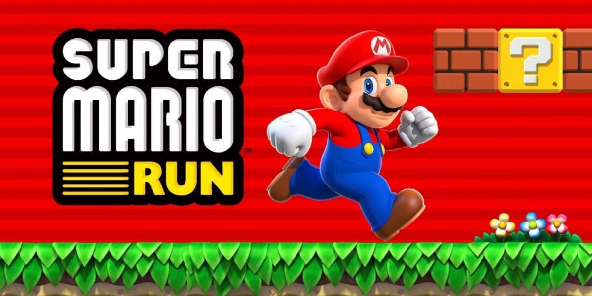Super Mario Run logra USD $30 millones de ganancias