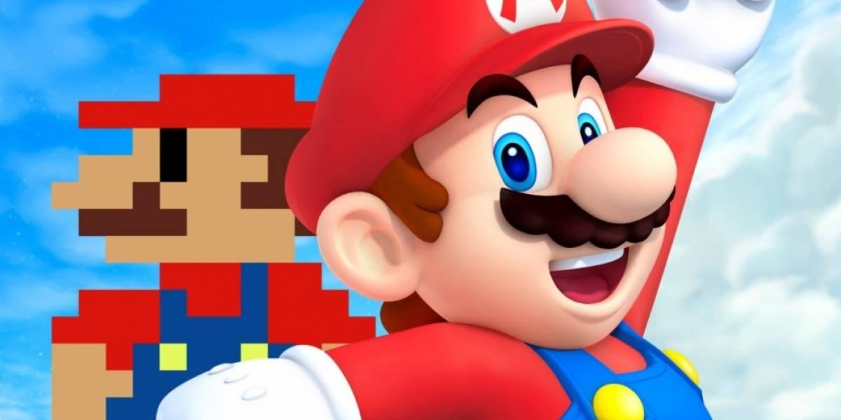 Super Mario llega a Minecraft de Wii U