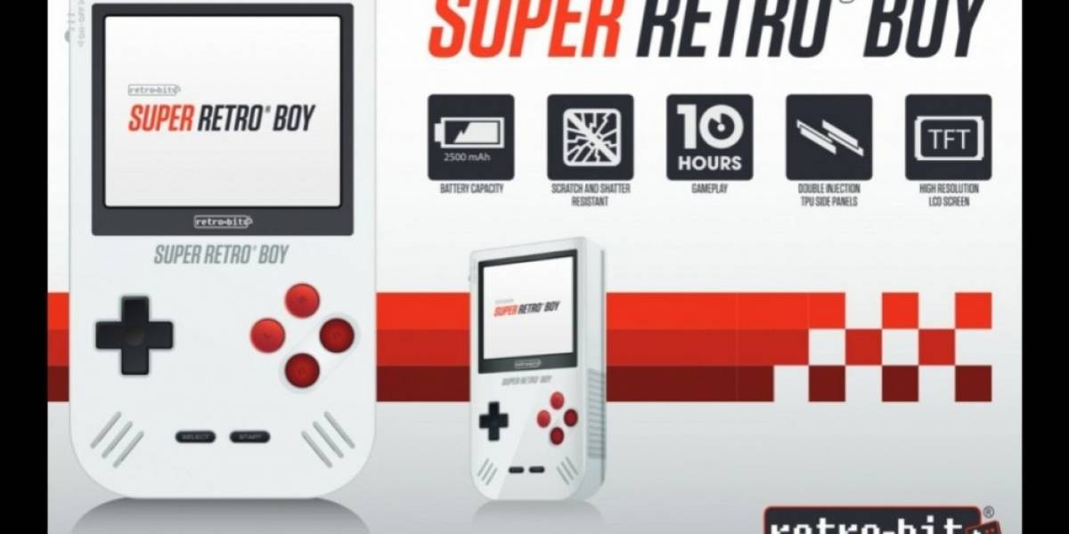 Retro-bit trae de regreso al Game Boy