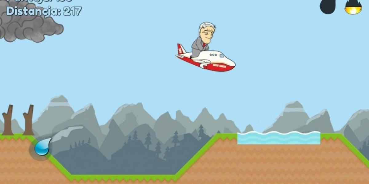 SuperTanker: The Game, el juego de apagar incendios forestales