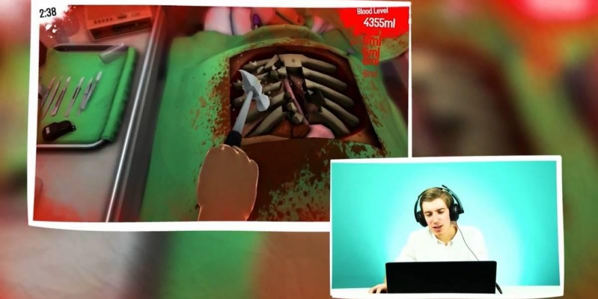 Cirujanos reales juegan Surgeon Simulator y son tan malos como nosotros