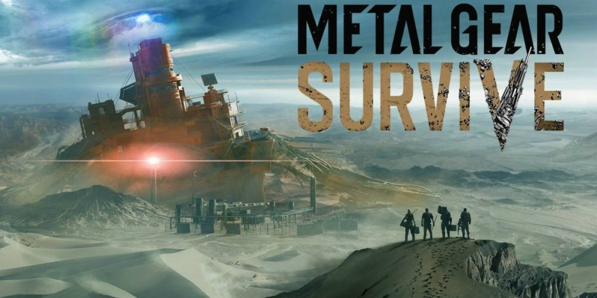 Konami anuncia Metal Gear Survive #gamescom2016