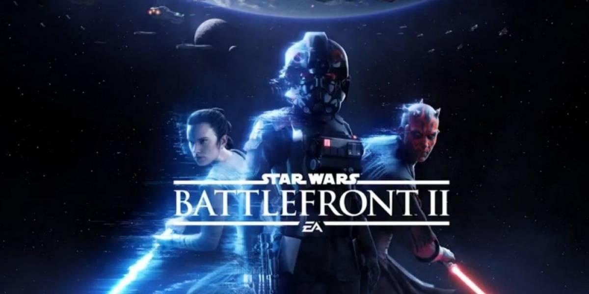 Se filtra el primer tráiler de Star Wars: Battlefront II