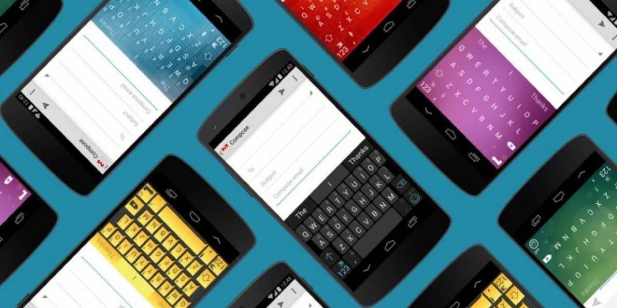 SwiftKey devuelve la predicción de correos y números telefónicos a usuarios