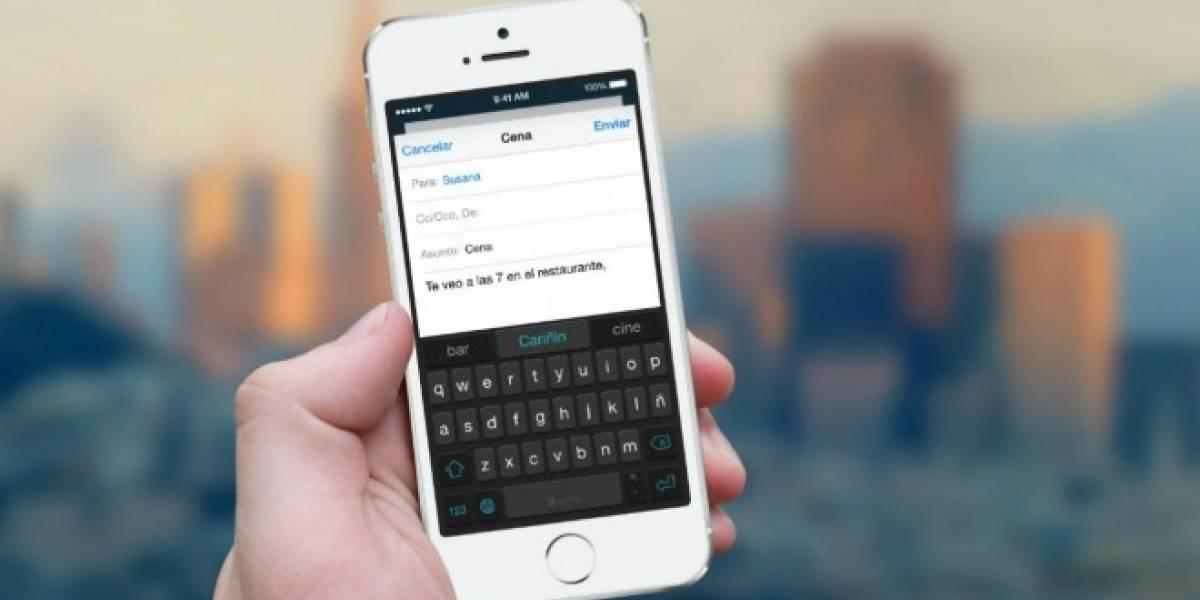 SwiftKey mostraba predicciones personalizadas de usuarios a otros