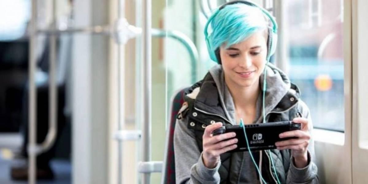 Así es como luce el menú de la Nintendo Switch