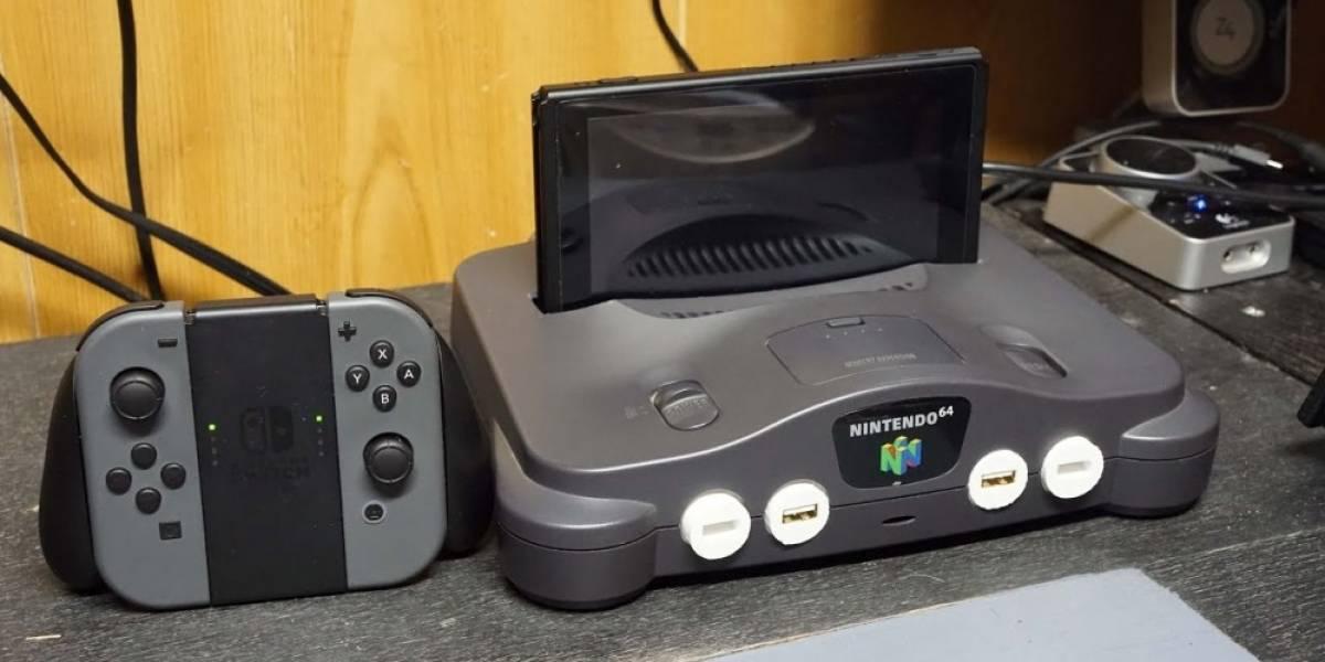 Convierten un Nintendo 64 en un dock para Nintendo Switch