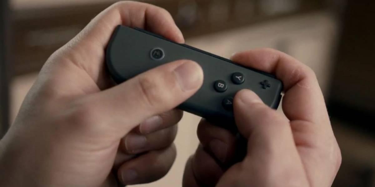 Nintendo Switch podría tener controles de movimiento