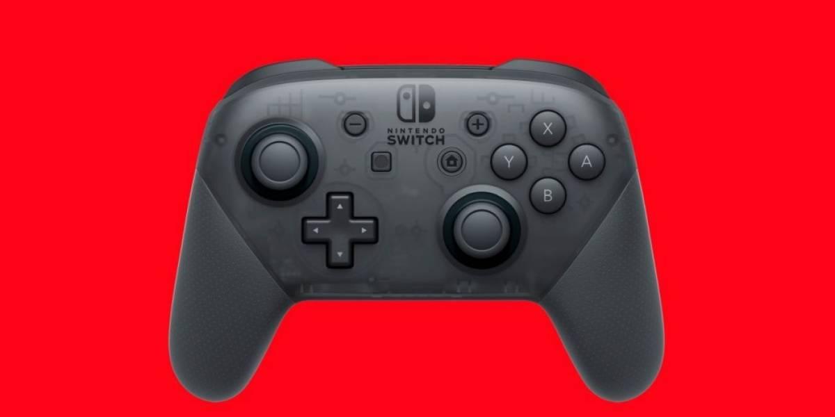 El control Pro del Nintendo Switch también funciona en PC