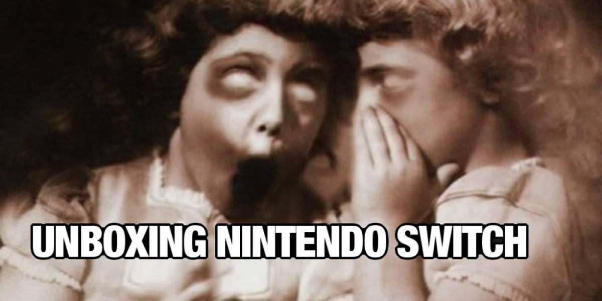 Unboxing: ¡Ya tenemos la Switch!