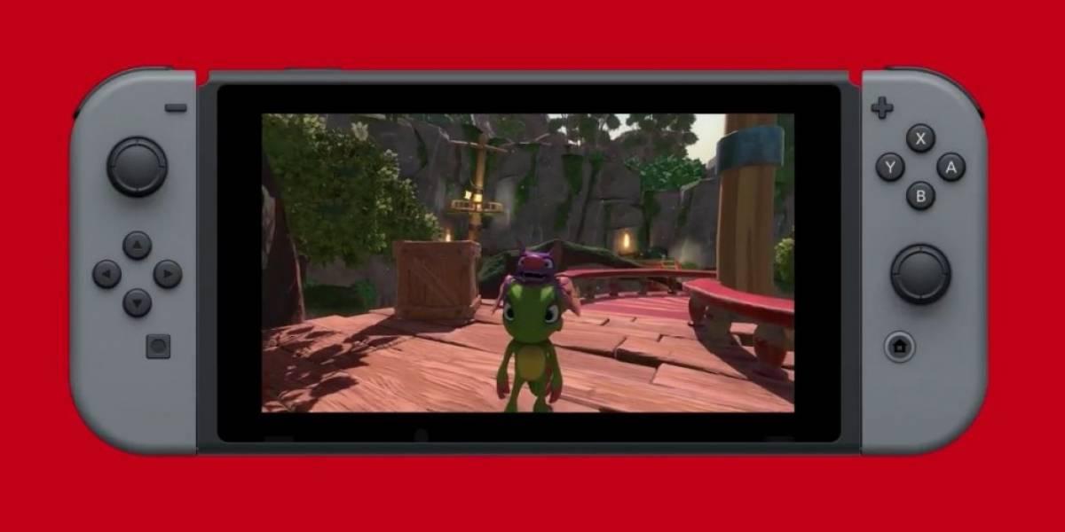 Yooka-Laylee llegará a Nintendo Switch en este 2017