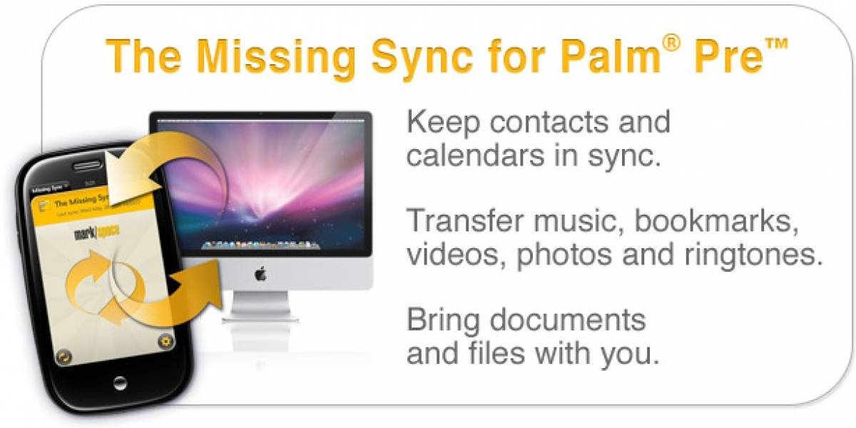 The Missing Sync para el Palm pre