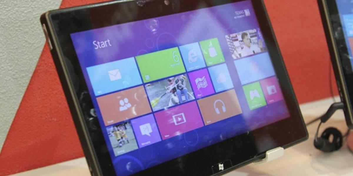CTX2012: TI muestra tabletas con plataforma OMAP y Windows RT