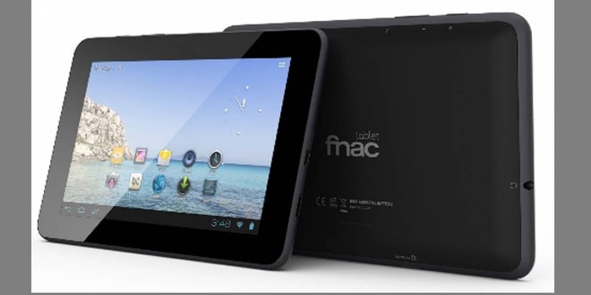 Las tablets 'low cost' de FNAC llegaron a España
