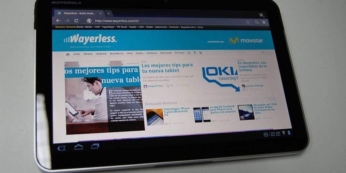 Lenovo estaría preparando una tablet Moto