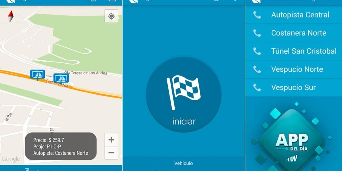 Tag'z te permite conocer cuánto dinero te cuesta tu viaje en peajes [App del día]
